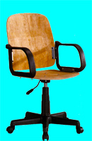 Semi-finished office chair IP-1906A